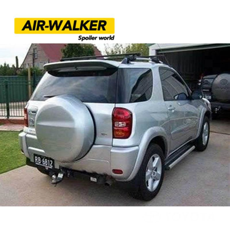 car styling abs plastic unpainted primer color rear trunk wing roof spoiler decoration for. Black Bedroom Furniture Sets. Home Design Ideas
