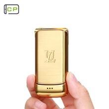 Ulcool-teléfono móvil V9 Teléfono de lujo, Original, con tapa, 1,54 pulgadas, FM, MP3, Bluetooth, marcador antipérdida