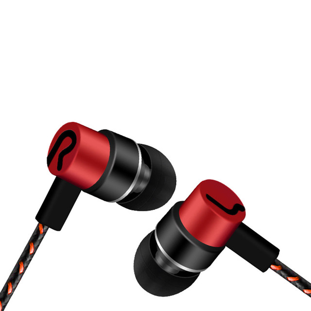 Colorful Wired In-Ear Earphones