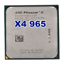 Free shipping AMD Phenom II X4 965 3.4GHz Socket AM2+ AM3 938 Processor Quad-Core 2M L2/ 6M L3 Desktop CPU