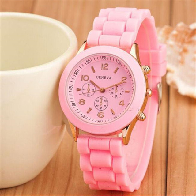 Silicone Sport Watches for Women