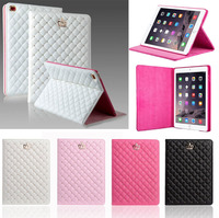 For IPad Mini 123 Case Crown Cover Case PU Leather Protective Stand Case For IPad Air