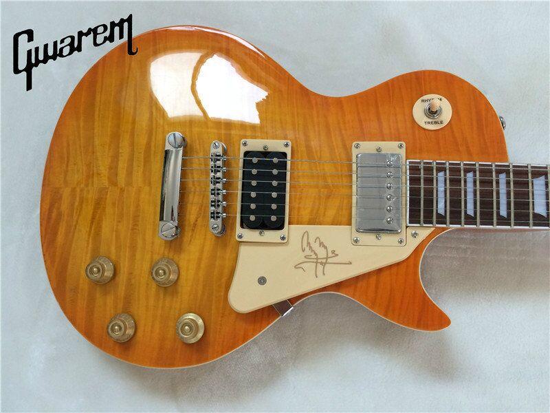 Electric guitar Gwarem new lp standard slash super/brown burst color guitar/guitar in china