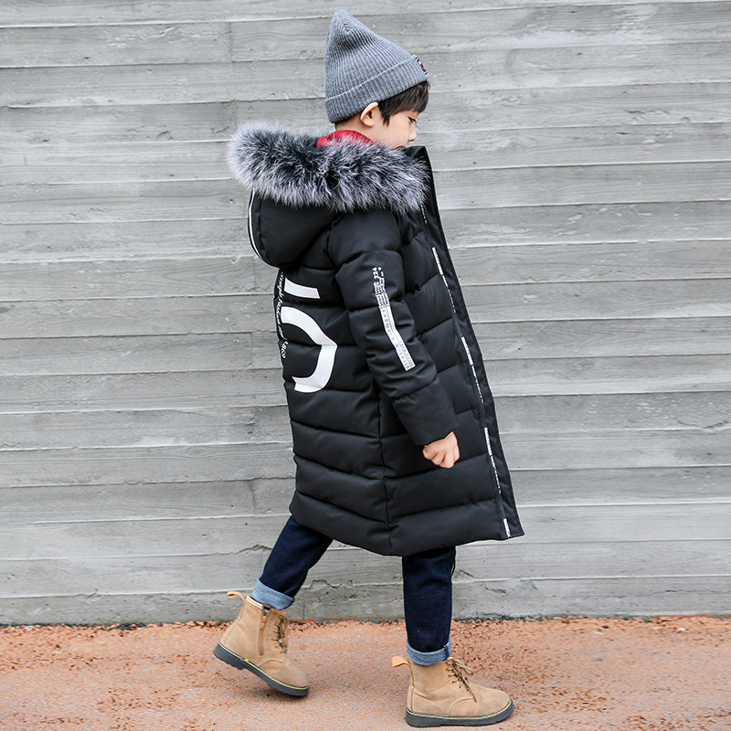 Image 4 - Winter Thicken Windproof Warm Kids Coat Waterproof Children Outerwear Kids Clothes Boys Jackets For 3 12 Years Old-in Jackets & Coats from Mother & Kids