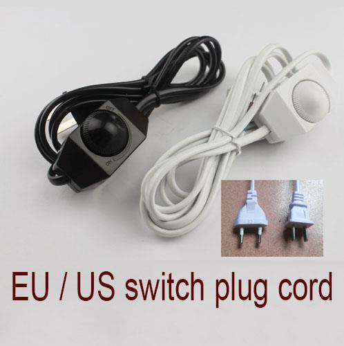 1pc 18m us eu plug no polarity awg switch dimming cable light 1pc 18m us eu plug no polarity awg switch dimming cable light modulator lamp greentooth Choice Image