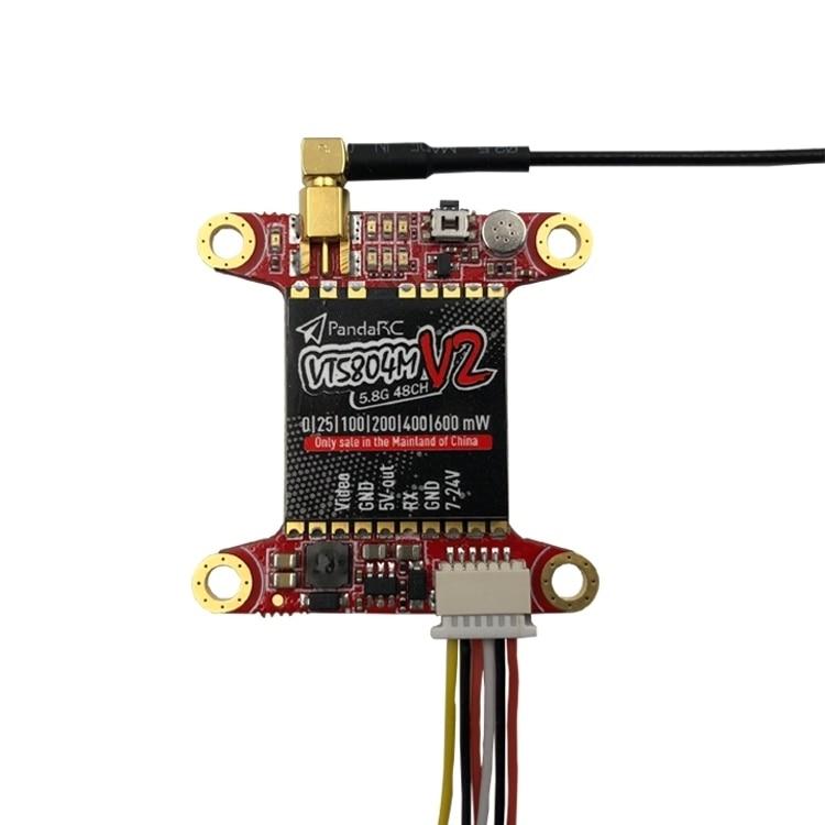 PandaRC VT5804M V2 5.8G 48CH Transmitter Support OSD Adjustm