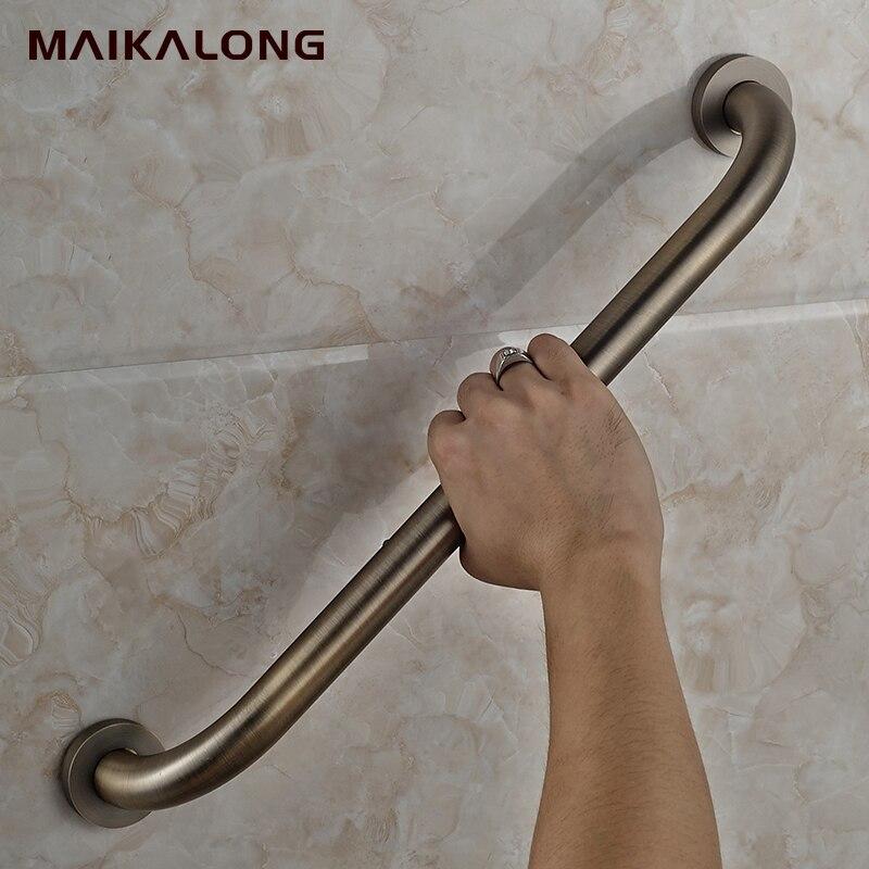 Bronze 304Stainless SteelBathroom grab bars, Solid Stainless steel ...