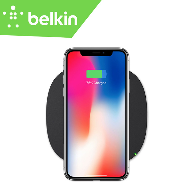 the best attitude 29627 9d3ac US $44.99 |Belkin Qi Wireless Charging Pad for iPhone X for iPhone 8 Plus  for Samsung Galaxy S9 S8 for Galaxy Note 8 with Retail Packing-in Wireless  ...