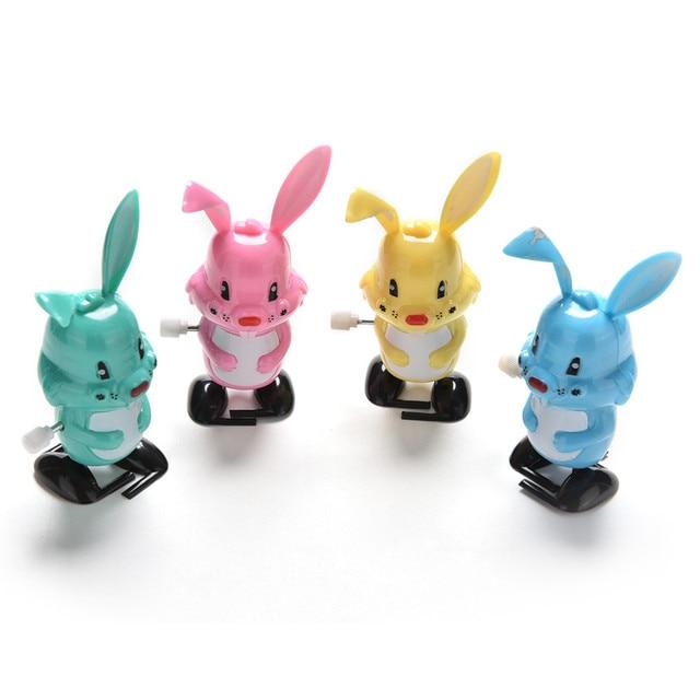 1 шт. мультяшный кролик заводные ветрозащитные игрушки для детей забавная игра Развивающие детские подарки на день рождения 2019 Новые