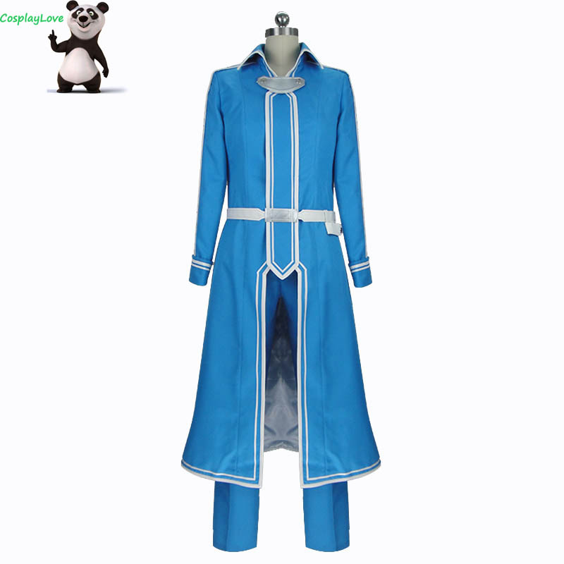 CosplayLove Sword Art Online Alicization Eugeo Cosplay Costume Custom Made For Christmas Halloween