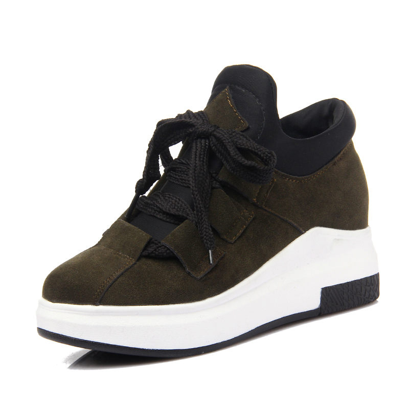 women height increased platform brand running shoes women outdoor sport ladies trainers running shoes girls ankle boots sneakers