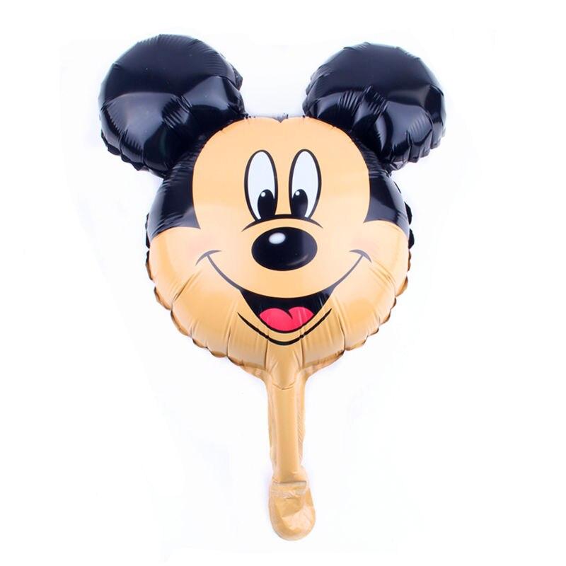 Tszwj b-136 Mini Микки и Минни Маус серии Алюминий шар День защиты детей партия Декоративные декоративный шар