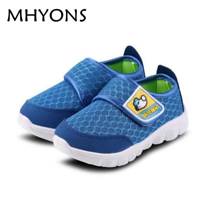 Brand Children Casual Shoes 2017 Hot Sale Boy and Girl's Sneakers Fashion Kid Mesh Breathable Sport Shoes Chaussure