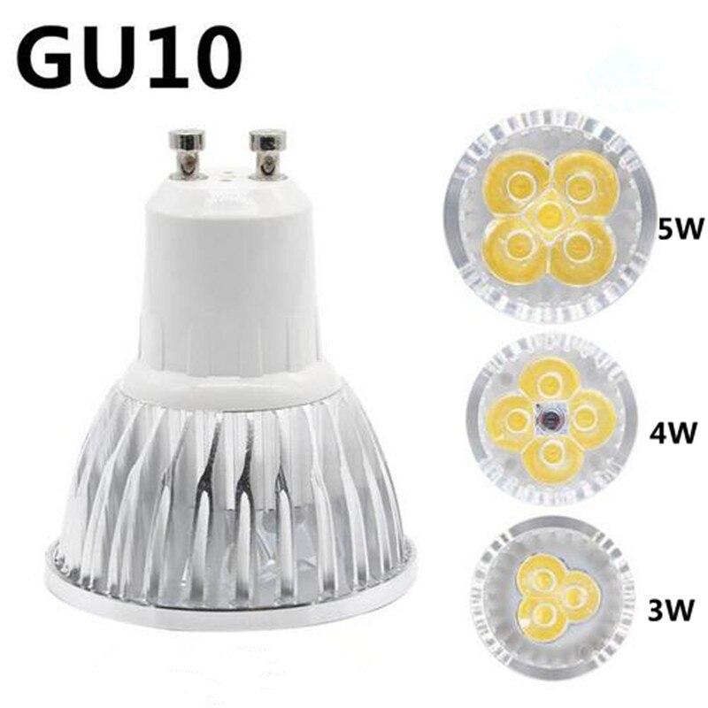 Ультра яркий СВЕТОДИОДНЫЙ Прожектор Лампы GU10/G5.3 3 Вт 4 Вт 5 Вт СВЕТОДИОДНЫЕ Лампы ПЕРЕМЕННОГО ТОКА 85-265 В Теплый Белый/Белый Бесплатная Достав…