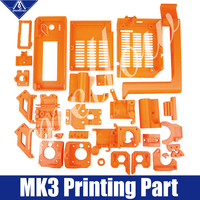 Free Shipping Colorful Prusa MK3 i3 Rework 3D Printer PLA Required PLA Plastic Parts Set Printed Parts Kit