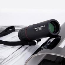 Vendita calda 10X25 HD binocolo Telescopio Monoculare Zoom Focus Pellicola Verde Binoculo Caccia Ottica Turismo di Alta Qualità Scope