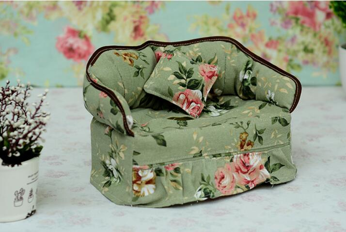 Couch Sofa Tissue Box Cover Bag