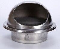 Coperchio in acciaio inox ss304 fumo cap cappuccio della parete uscita 15 cm o 12 cm diametro