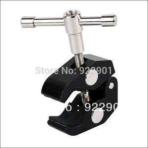 Small Super Clamp ideal for video & stills-DSLR Lager Articulating Magic Friction