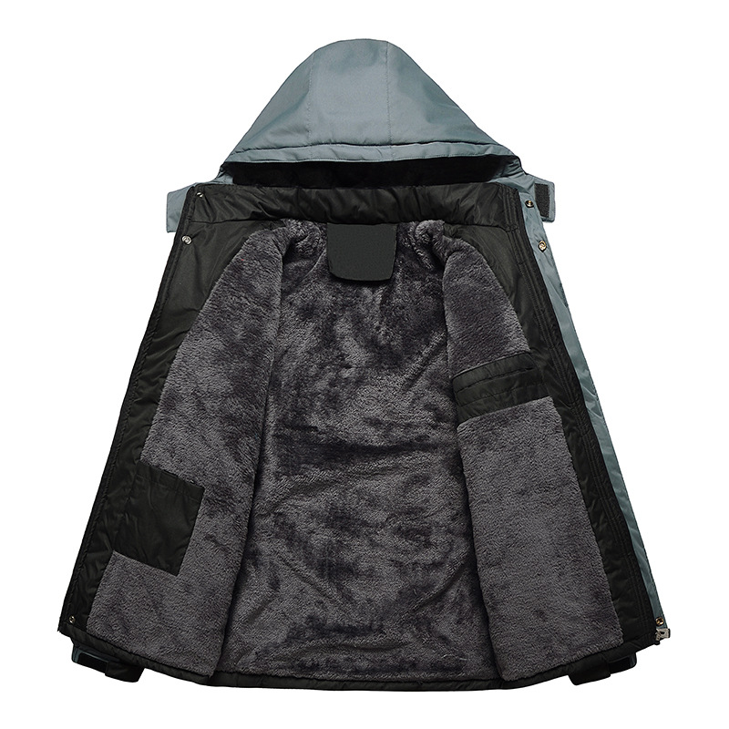 red Taille vent Vestes M dark De Imperméable Black blue Bomber Chaud Veste Cachemire Épais Hiver Marque Hommes green Manteaux dark Grey Blue Coupe 6xl Manteau PfqwZS6x