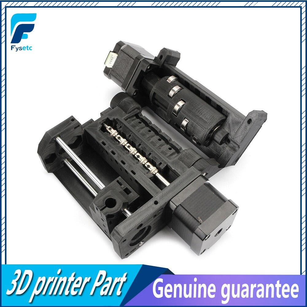 Clone prusa i3 mk3 mmu2 kit multi material placa de controle motores kit cabos sinal potência hastes lisas peças impressão ptfe
