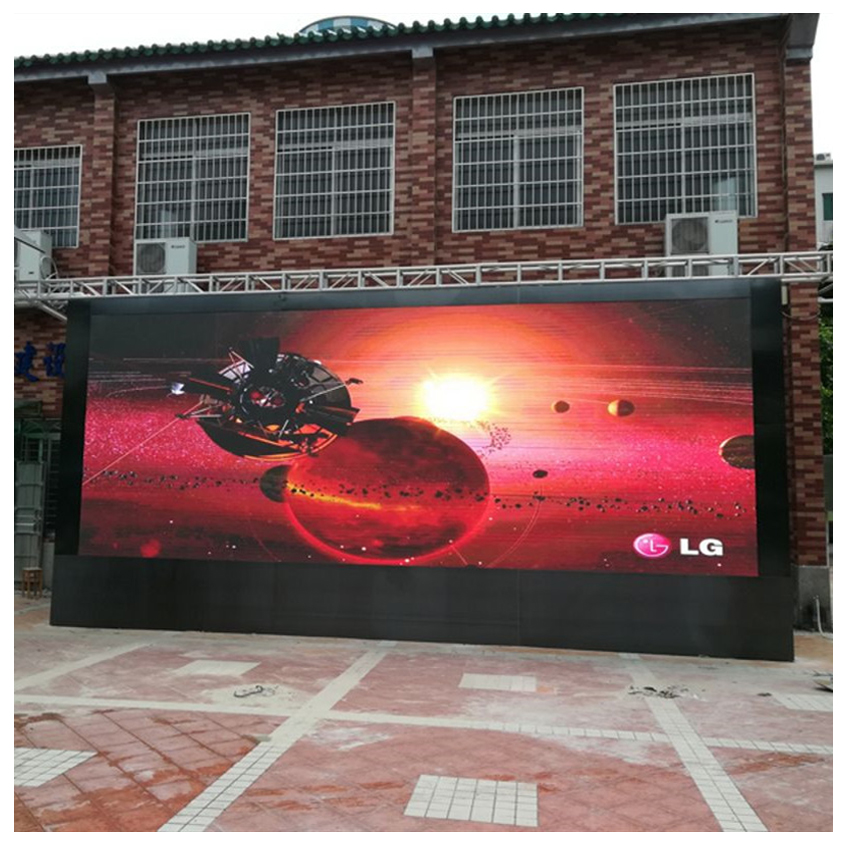 P5 SMD Outdoor High Brightness Waterproof 640X640mm Die Casting Aluminium Cabinet Rental Big LED Display Full Color Advertising