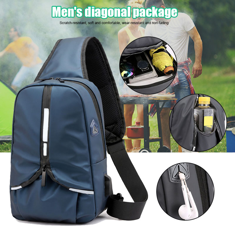 Jogging-Bags City Outdoor Sports for Campus Xr-Hot Messenger-Bag Multi-Function Men's