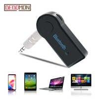 Estéreo 3,5 inalámbrico Bluetooth receptor transmisor adaptador para coche música Audio Aux A2dp para auriculares receptor Jack manos libres