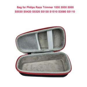 Image 5 - נייד מקרה עבור Philips תער גוזם 1000 3000 5000 S5530 S5420 S5320 S5130 S1510 S3580 EVA תיק אחסון תיבת כיסוי לnorelco