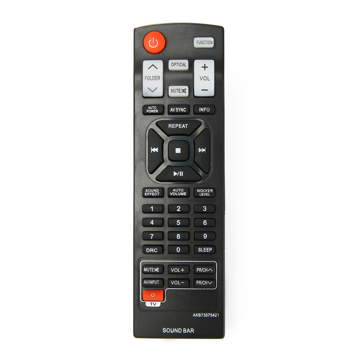 Mayitr Dedicated Replacement Remote Control AKB73575421 Model Remotes for LG Soundbar NB2420A NB4530B