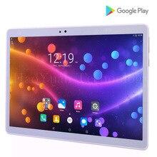 Новинка 2017 планшет10дюймов Android 7.0 Tablet PC Octa core Восемь ядерных планшеты 4 г планшетных ПК 64 ГБ Встроенная память 1920*1200 HD WI-FI GPS металла Tablet Bluetooth планшетный компьютер