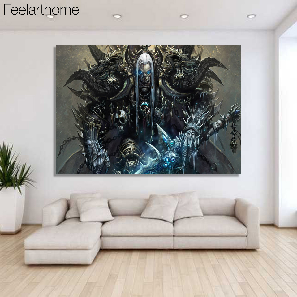 1 piece canvas art canvas painting world of warcraft for House decoration pieces