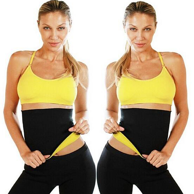 Neoprene Hot SPA Waist Trainer Corset Latex Slimming Belly Band Cincher Body Shaper Sweat Sauna Belt Women Slim Shapewear 3