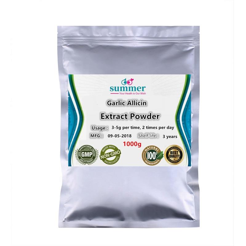 1000g Pure Garlic allium sativum extract 20 1 powder for Resisting tumor Lowering blood pressure and