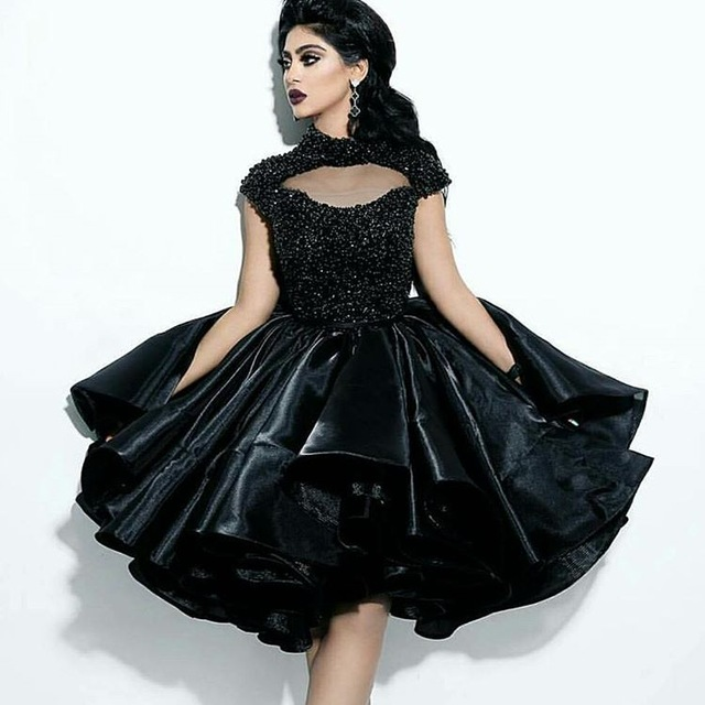 Compare Prices on Black and Sparkly Short Prom Dress- Online ...