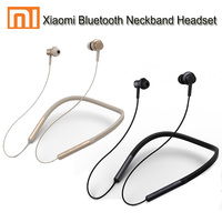 2018 new Xiaomi mi Bluetooth Neckband Earphones Wireless Apt x Hybrid Dual Cell With Mic for Android IOS System Newest Design