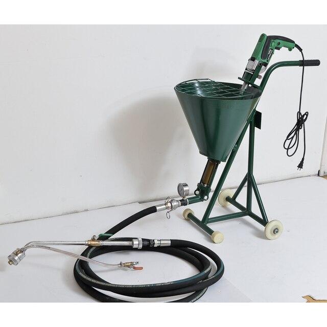 Concrete spraying cement plaster machine QY 750 light weight machine ...