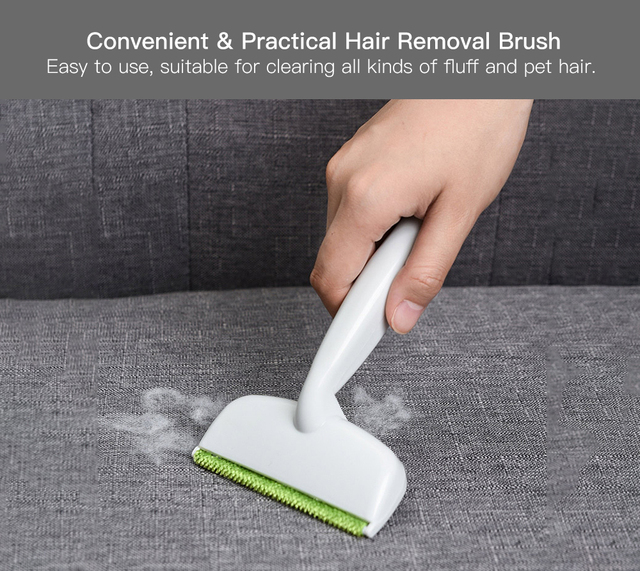 clothes pets hair remover brush manual magic clothes brush double