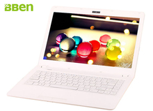 White Bben windows 10 14.1inch laptop notebook ram 4g emmc 32g HDD 1000G intel N3150 cpu labtop computer wifi Bluetooth4.0
