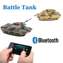 Christmas Gift RC Battle Tank Smart Phone Bluetooth Controlled Gravity Sensing Commander Series Remote Control Toy for Kids H500