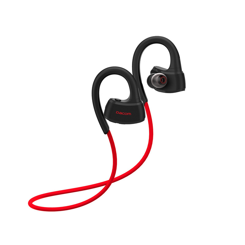Dacom P10 Bluetooth Headset IPX7 Waterproof Wireless Sport Headphones Stereo Music Earphone With Mic For Swimming iPhone Samsung wireless bluetooth headphones music hat smart caps headset stereo earphone warm beanies winter hat with speaker mic for sport
