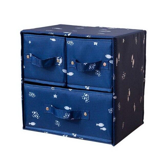 Urijk Closet Underwear Bra Organizer Storage Box Drawer Organizers Bo For Scarfs Socks Holders Household