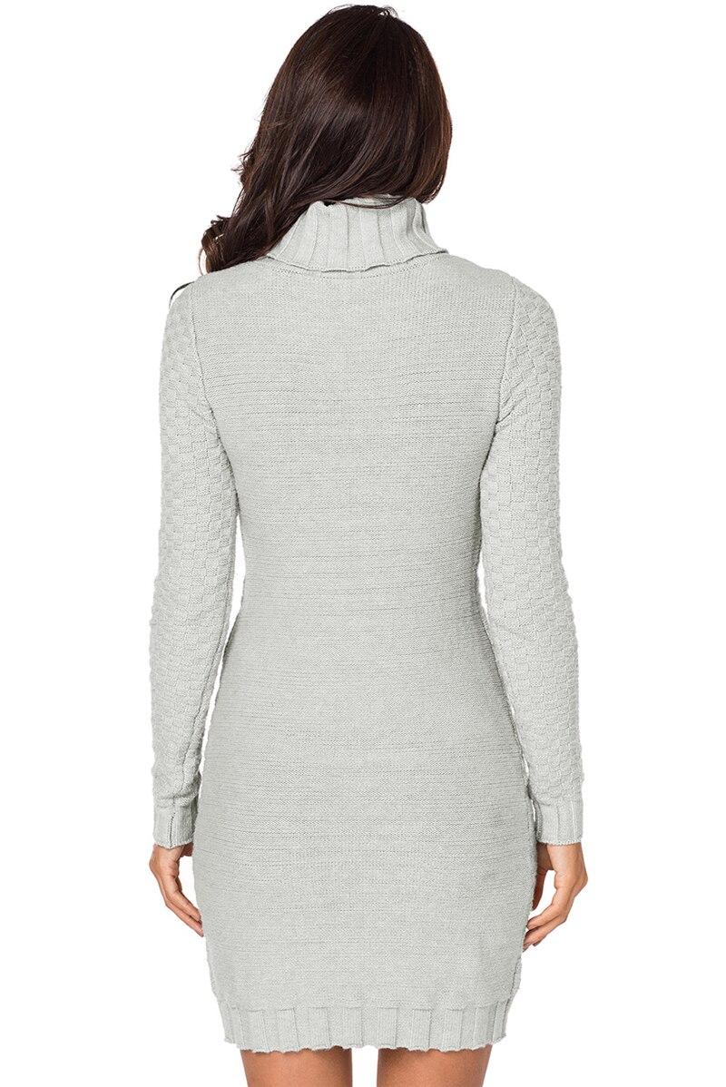 Grey-Stylish-Pattern-Knit-Turtleneck-Sweater-Dress-LC27867-11-2
