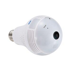 Image 3 - ESCAM QP136 HD 960P كاميرا أمان لاسلكية 360 درجة بانورامية H.264 الأشعة تحت الحمراء داخلي كشف الحركة كاميرا IP لاسلكية