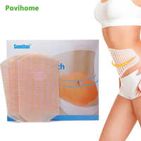 20 pcs/bag Wonder Slimming plaster Belly Abdomen Weight Loss Fat burning Slim Patch Cream Navel Stick Efficacy Strong K02702