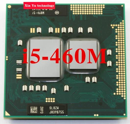 Lifetime warranty Dual Core i5 460M 2.53GHz 460 Notebook processors Laptop CPU PGA 988 Official version  Computer Original