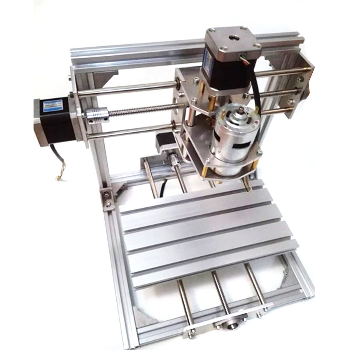 DIY 20x20cm Mini 3 Axis CNC Engraver Machine PCB Milling Wood Carving Engraving Router Kit Carving Machine Carving Stroke eur free tax cnc 6040z frame of engraving and milling machine for diy cnc router