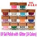 Glitter Powder Nail Gel UV Gel Polish Soak Off Gel Polish China Brand Long Lasting Dries any UV Lamp or LED Light Nail Art Tool