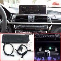 Автомобильное беспроводное зарядное устройство для BMW серии 3/4 Беспроводная зарядка Стандарт WPC Qi 1,2