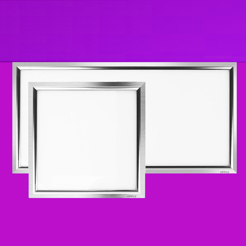 Immeuble de bureaux intégré plafonnier led intégré plafonnier moderne Simple aluminium boucle conseil salle de bains cuisine lampe à led